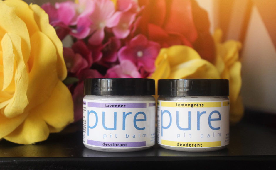 Meet & Greet With Pure Pit Balm – Natural Deodorant & Giveaway