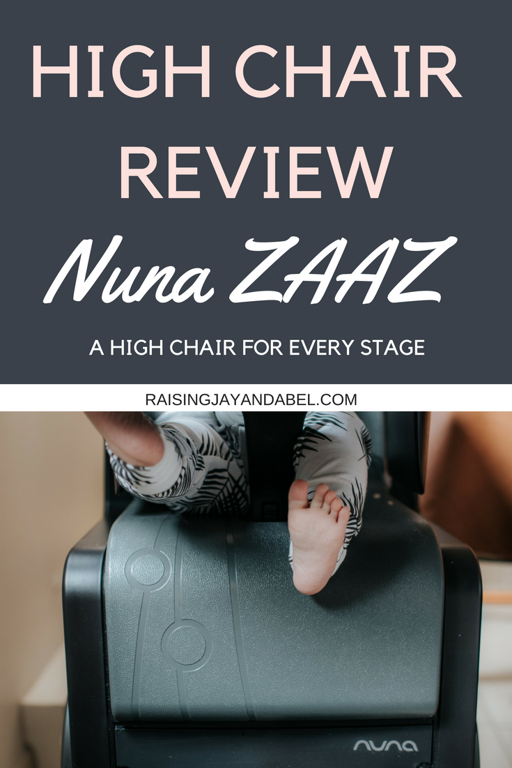 Nuna Zaaz High Chair Review A High Chair For Every Stage