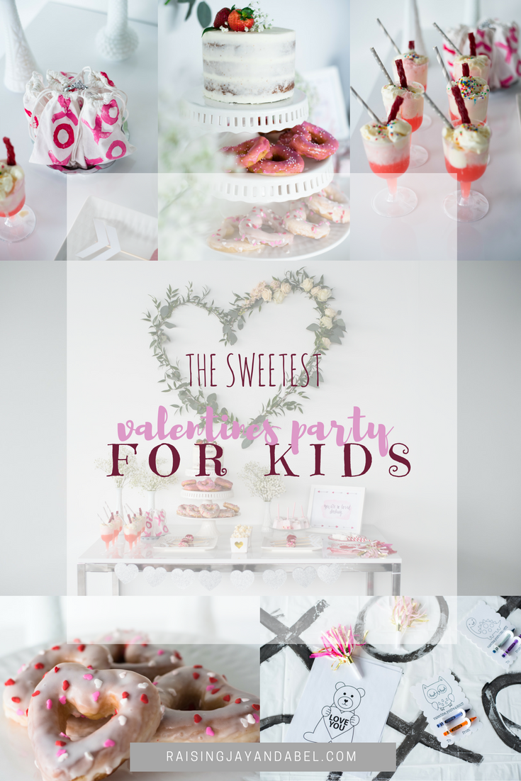The Sweetest Valentines Day Party For Kids So Many Diys Raising