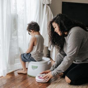 Potty Training a Stubborn Child With Kandoo Flushable Wipes
