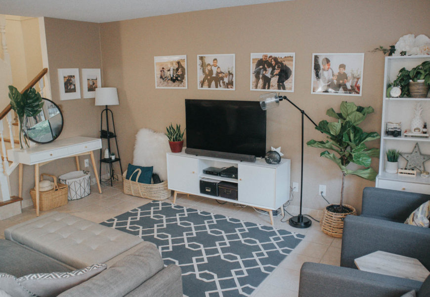 #CANVASRoomRefresh With Canadian Tire | Before & After #MyCANVASstyle