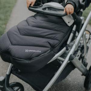 Keeping warm with buybuy Baby | UPPAbaby CozyGanoosh Footmuff
