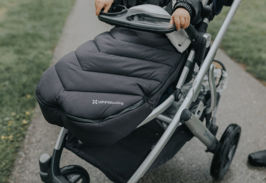 Keeping warm with buybuy Baby | UPPAbaby CozyGanoosh Footmuff