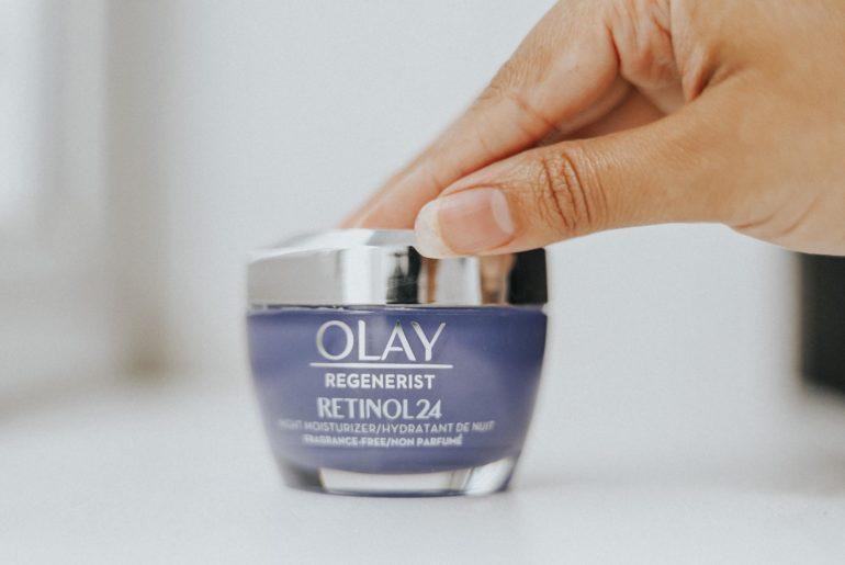 Olay Retinol24, Olay Retinol24 Night Cream, Olay Retinol24 Review