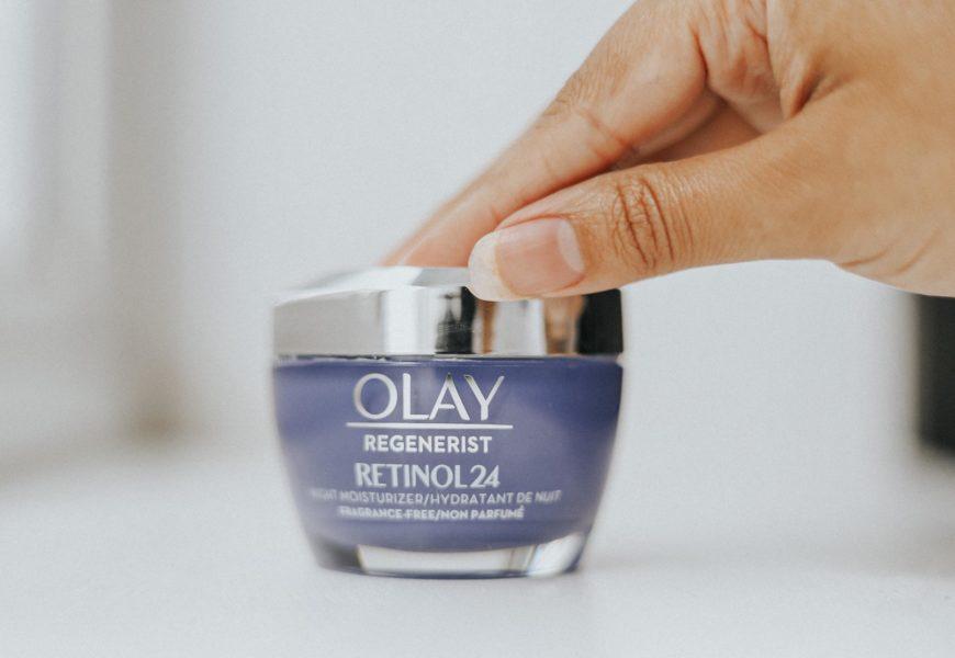 Olay Retinol24 Night Cream   My 5 week Skin Transformation