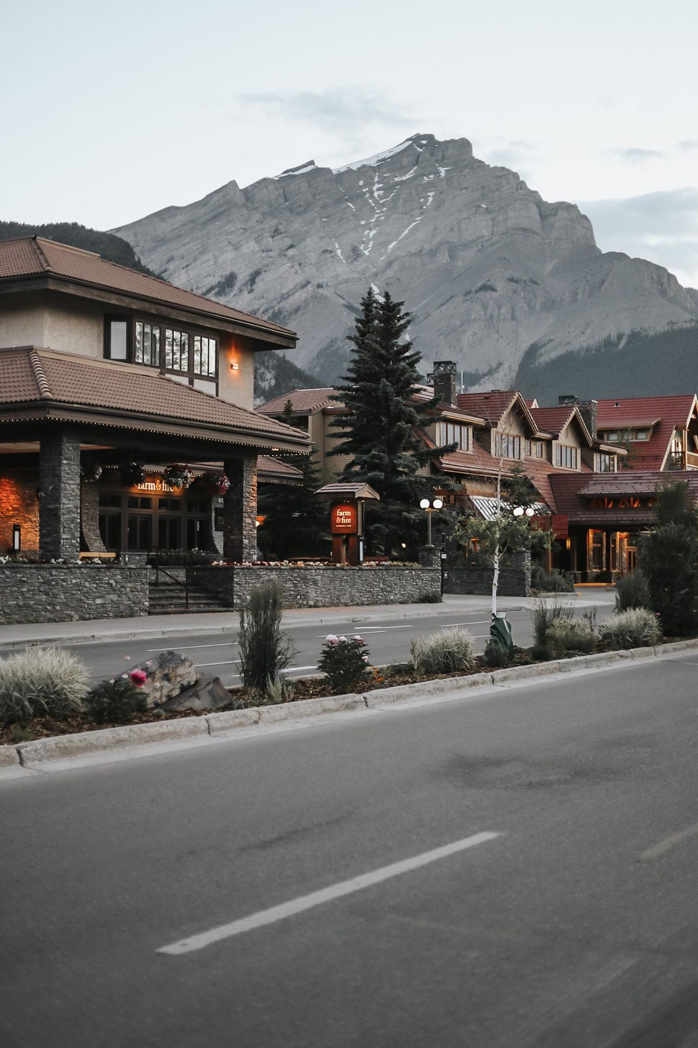 Travelling to Banff with Kids, Farm and Fire